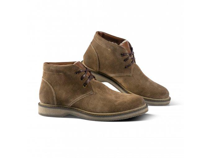 Pánská zimní obuv LUGANO hnědá
