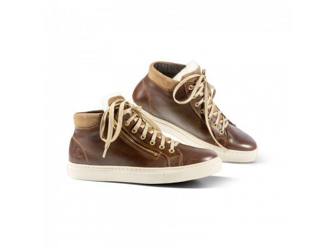 Dámská zimní obuv CONNY hnědá