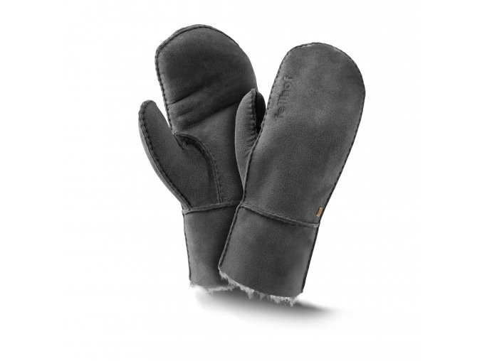 Kožešinové palčáky TREND černá