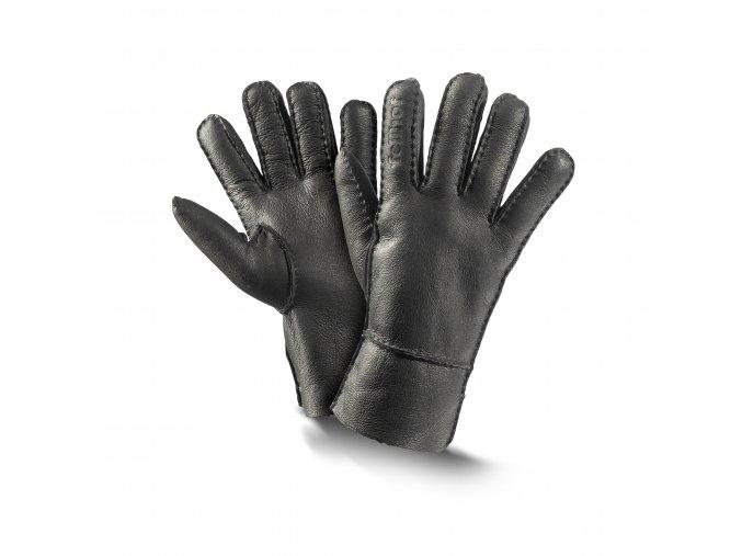 Kožešinové rukavice - TREND NAPPALAN
