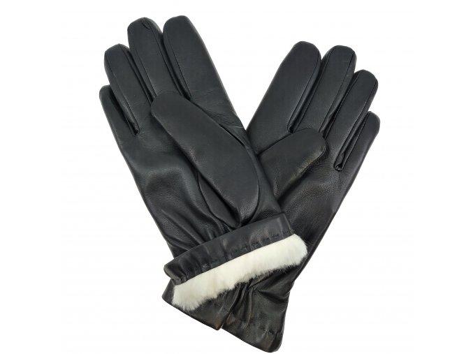 Pánské rukavice s králičí podšívkou