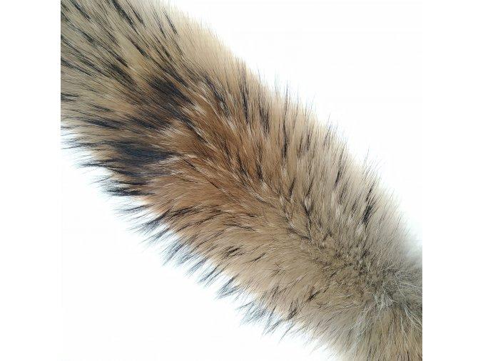 Kožešinový lem na kapuci