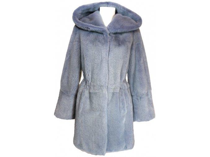 Dámský kožešinový kabát - norek