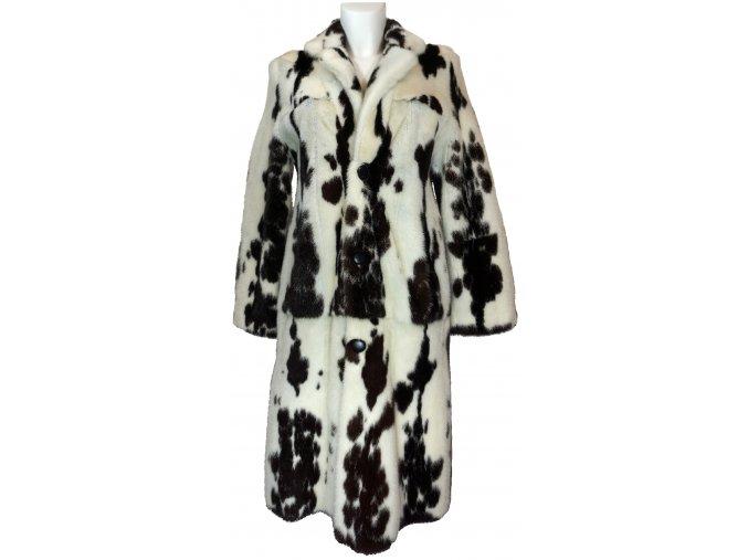 dámský kožešinový kabát oboustranný norek