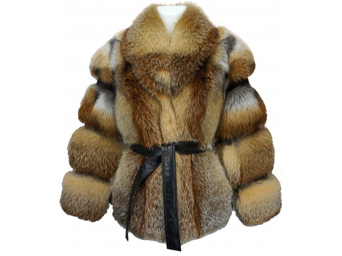 Dámská kožešinová bunda - liška