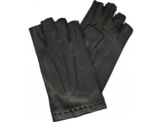 dámské rukavice bezprsté černé rs