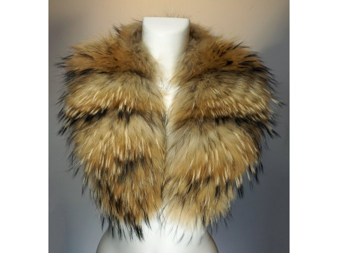 Dámský kožešinový límec - mývalovec