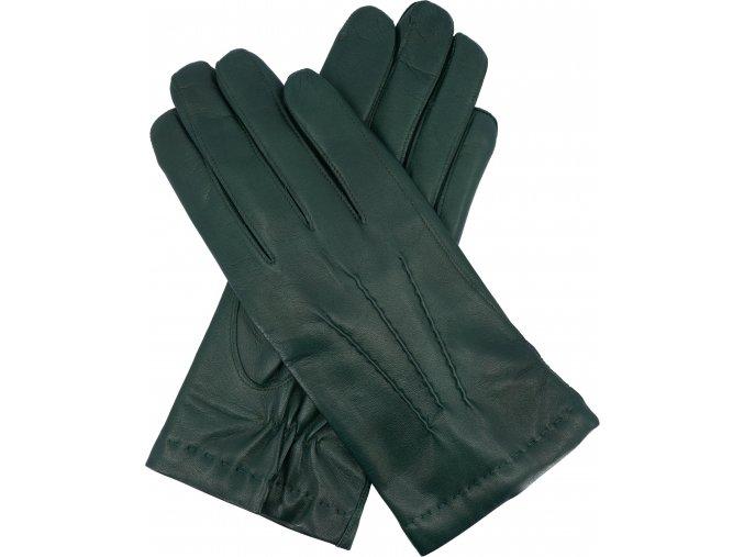 pánské rukavice s podšívkou vlna petrolejové