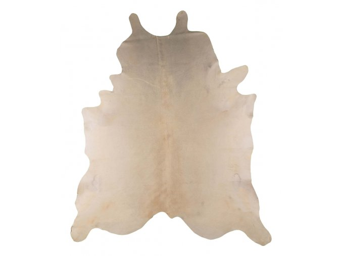 hovězí kožešina přírodní bílá 3 4 m2