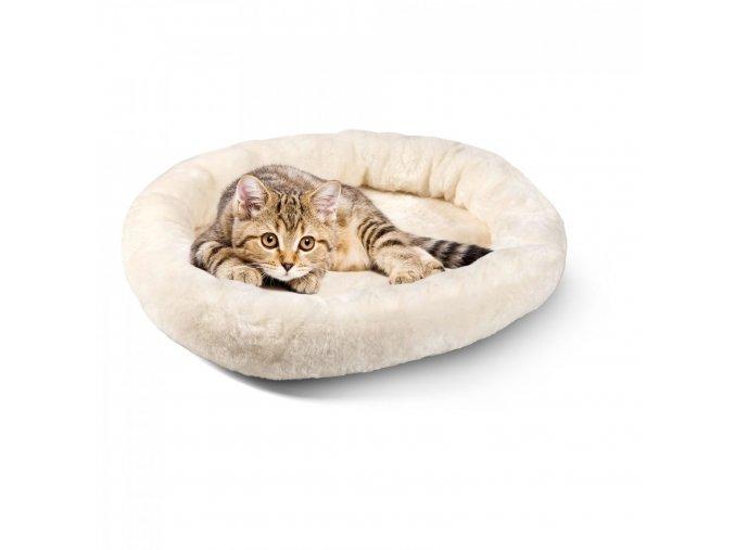 Pelíšek pro kočky a psy s kočkou