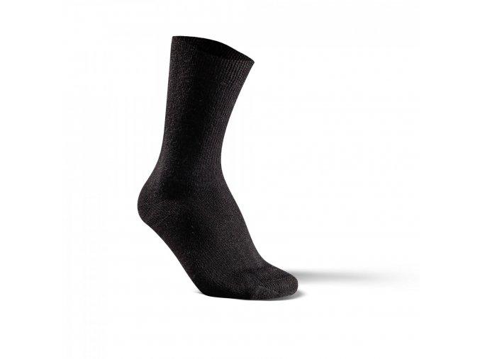 ponožky alpaka merino černé