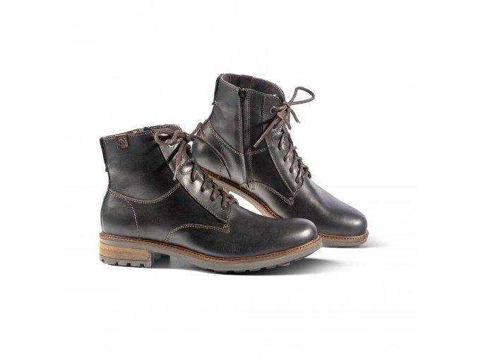 Pánská zimní obuv MASSIMO černá