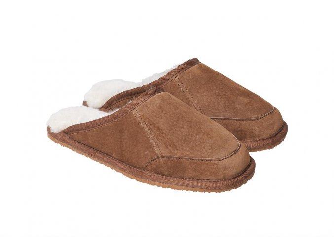 Pantoffel Caldo nuss