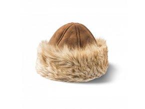 Kožešinová čepice s lemem MARINA
