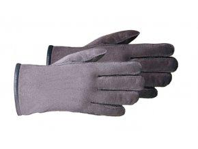 Kožešinové rukavice CLASSIC šedé