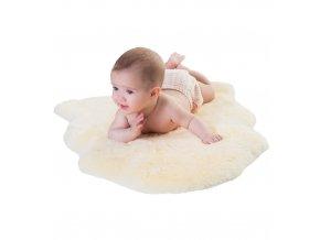 Dětská podložka z ovčí kožešiny - BABY