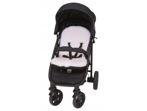 Kinderwageneinlage black white