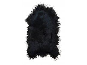 Lammfell Island schwarzbraun