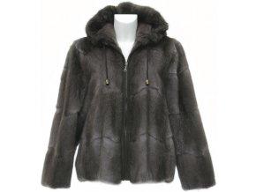 Dámská kožešinová bunda