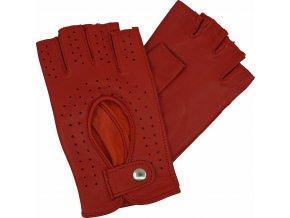 dámské řidičské rukavice bezprsté