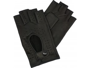 dámské rukavice bezprsté černé