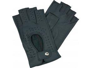 dámské rukavice bezprsté šedé