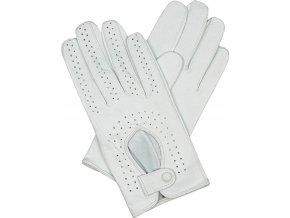 dámské rukavice řidičské bílá