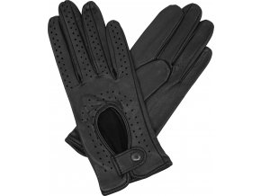 dámské řidičské rukavice černá