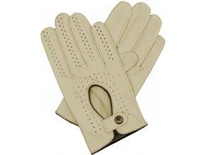 pánské kožené rukavice řidičské bříza