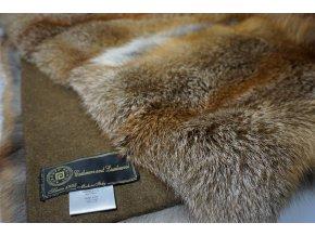 Kožešinová deka liška 200 x 140 cm
