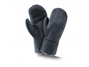 Kožešinové palčáky TREND modrá