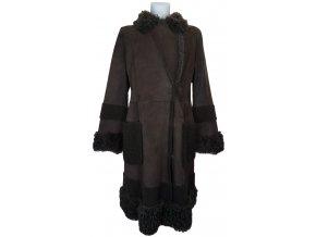 dámský kožešinový kabát jehnětina
