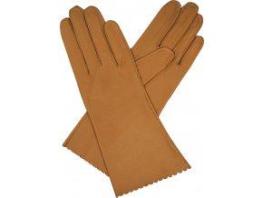 dámské kožené rukavice bezpodšívkové2