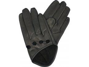 dámské rukavice superkrátké černé