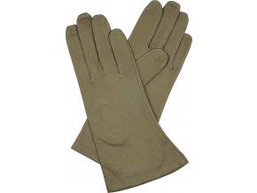 dámské kožené rukavice podšívka UH divná