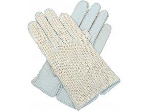 pánské kožené rukavice bezpodšívkové karlovarské světlé