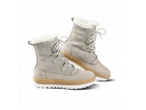 dámská zimní obuv Davos světle šedá