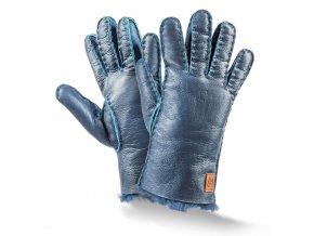 dětské kožešinové rukavice
