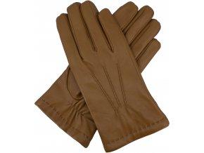 pánské rukavice s podšívkou vlna pískové