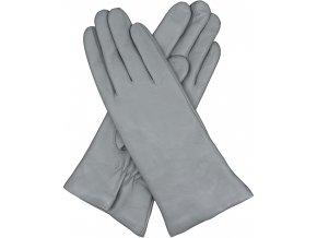dámské rukavice s podšívkou vlna aluminium
