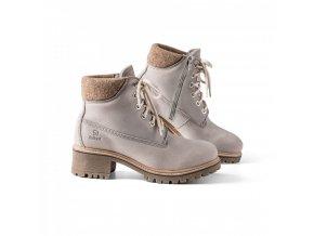 Dámská zimní obuv TIMBA+ šedá