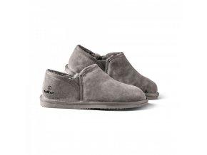 Dámská domácí obuv KOMFORT šedá