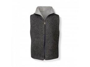 Pánská vesta z vlněné plsti oboustranná