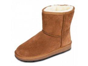 dámská obuv EGG BOOTS camel 1
