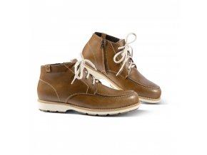 Pánská zimní obuv WALKER hnědá