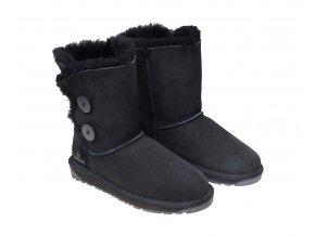 Dámská zimní obuv ALLEGRA černá