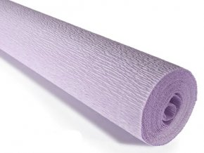 Krepový papír role 180g (50 x 250cm) - světle fialová 592