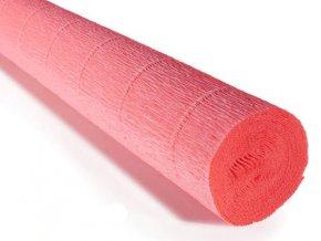 Krepový papír role 180g (50 x 250cm) - růžová 601