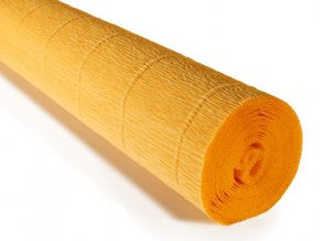 Krepový paír světle oranžová 576