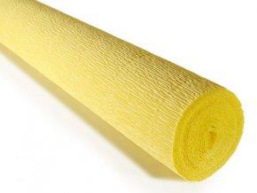 Krepový papír žlutá 574